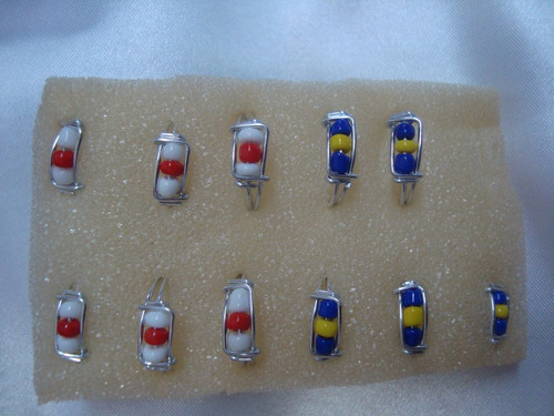 60 anillos de aluminio, x mayor, cotillón,surtidos,souvenir
