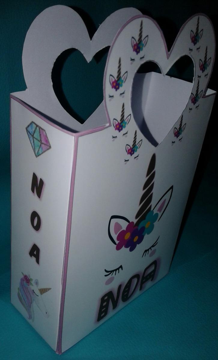 99c869018 60 bolsitas golosineras unicornios nenas y nenes para armar. Cargando zoom.