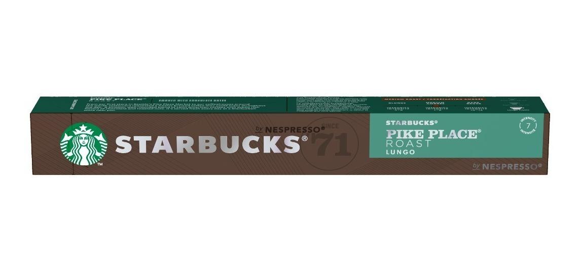 60 Capsulas Nespresso Starbucks Blonde Espresso Roast