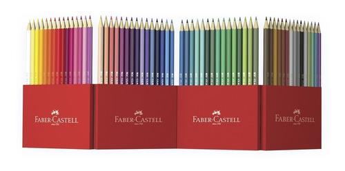 60 colores hexagonales, faber-castell
