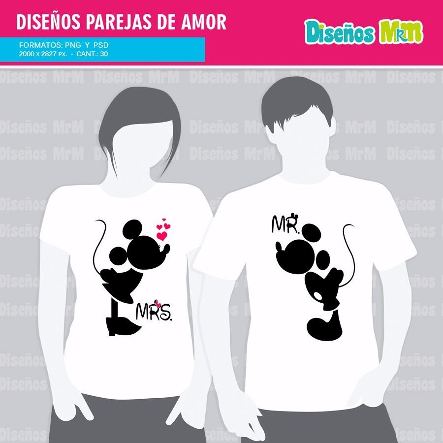 852c81d11a83a 60 Diseños Para Estampar En Pareja De Enamorados Amor -   7.400 en ...