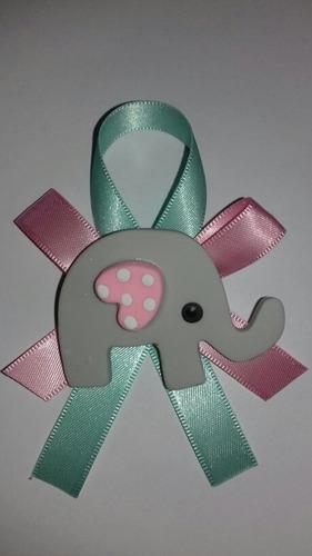 60 distintivos elefante c/envio gratis baby shower