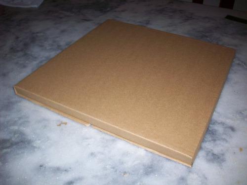 60 embalagem, caixa de papelão para discos, vinil, até 7 lps