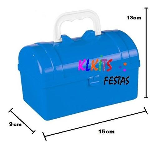 60 maletinha baú plástica lembrancinha maleta aniversário