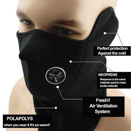 60 mascaras neoprene polar respirador orejeras cuotas