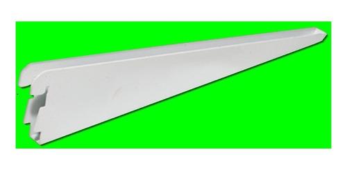 60 mensula metalica reforzada 27 cm doble enganche 02-19