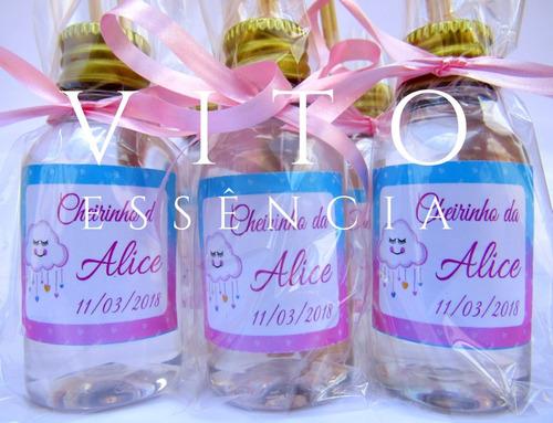 60 mini difusores lembrancinhas maternidade casamento festa