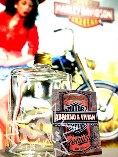 60 mini drinks convidados christmas santa claus whisky h01
