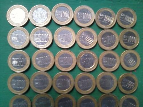 60 monedas de tres cero de vzla fuera de circulacion