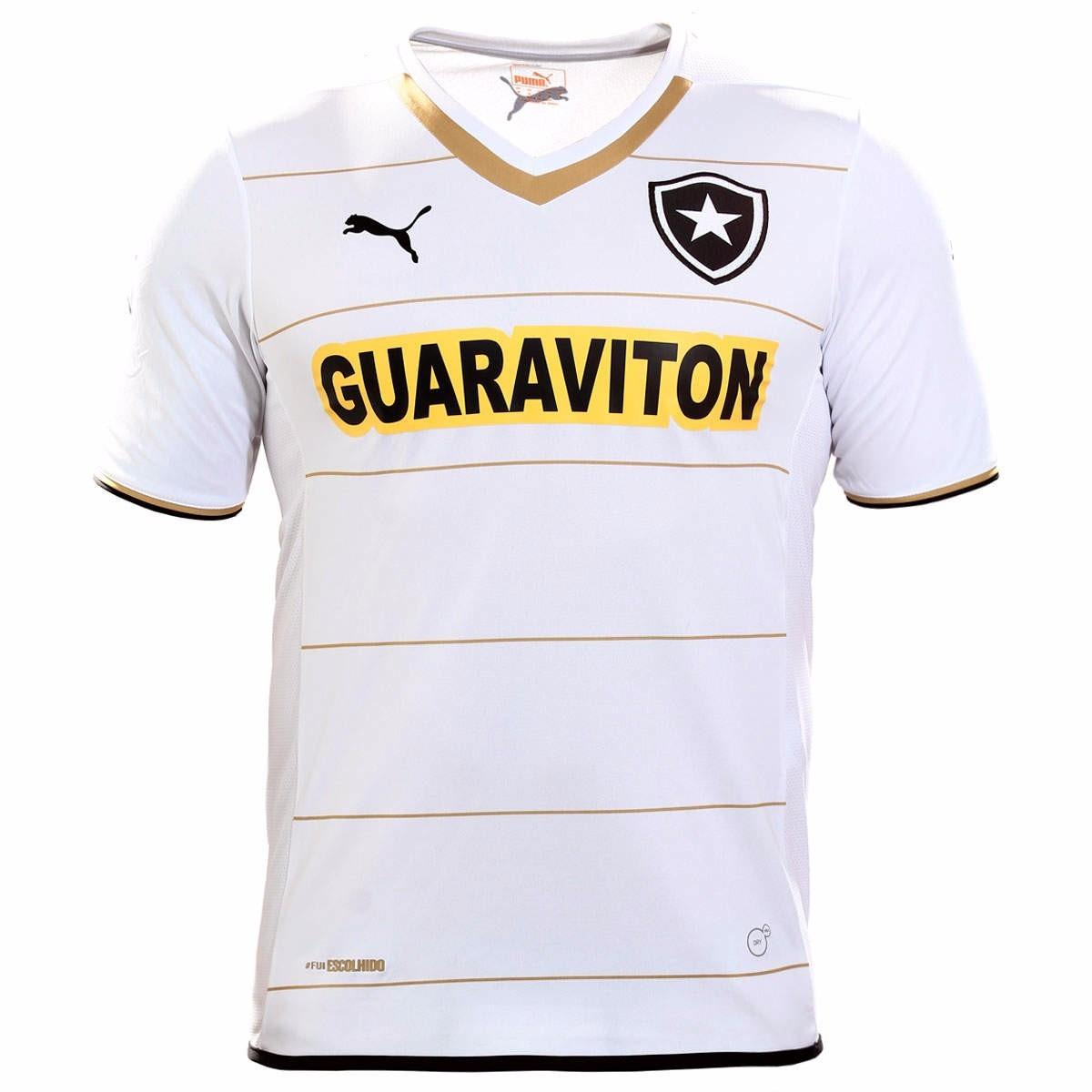 60 % Off ! Camisa Botafogo Oficial Puma Away 2014 2015 Nova - R  101 ... 086ef44d2b18a
