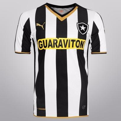 33fa2f242b 60% Off! Camisa Botafogo Oficial Puma Home 2014 Nota Fiscal - R  99 ...