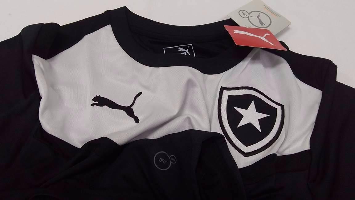 ... camisa botafogo oficial treino puma 2015 2016. Carregando zoom. c0ef480eb17f3