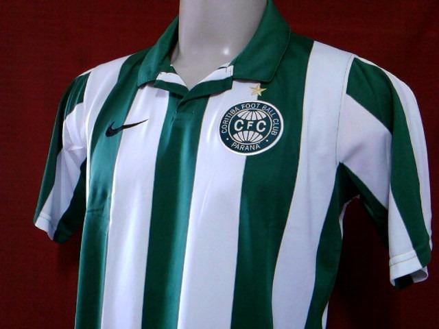 60% Off! Camisa Coritiba Classica Oficial Nike 2012   2013 - R  99 ... 4479d6c9bd8b5