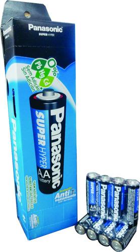 60 pilhas panassonic comum p 2a p/ melhor preço + frete