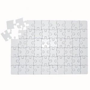 60 quebra cabeça sublimação 60 peças 19x27 a4