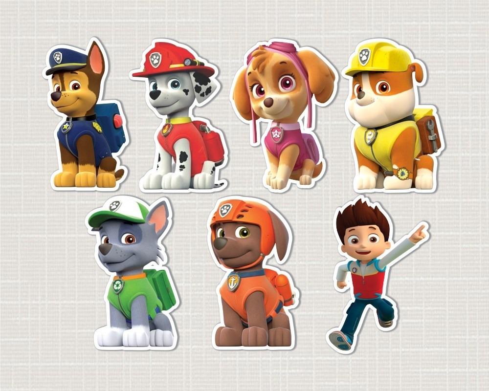 Patrulha Canina Personagens Para Imprimir