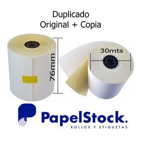 60 Rollos Quimicos/fiscal Duplicado 76x30 Mts Epson / Hasar