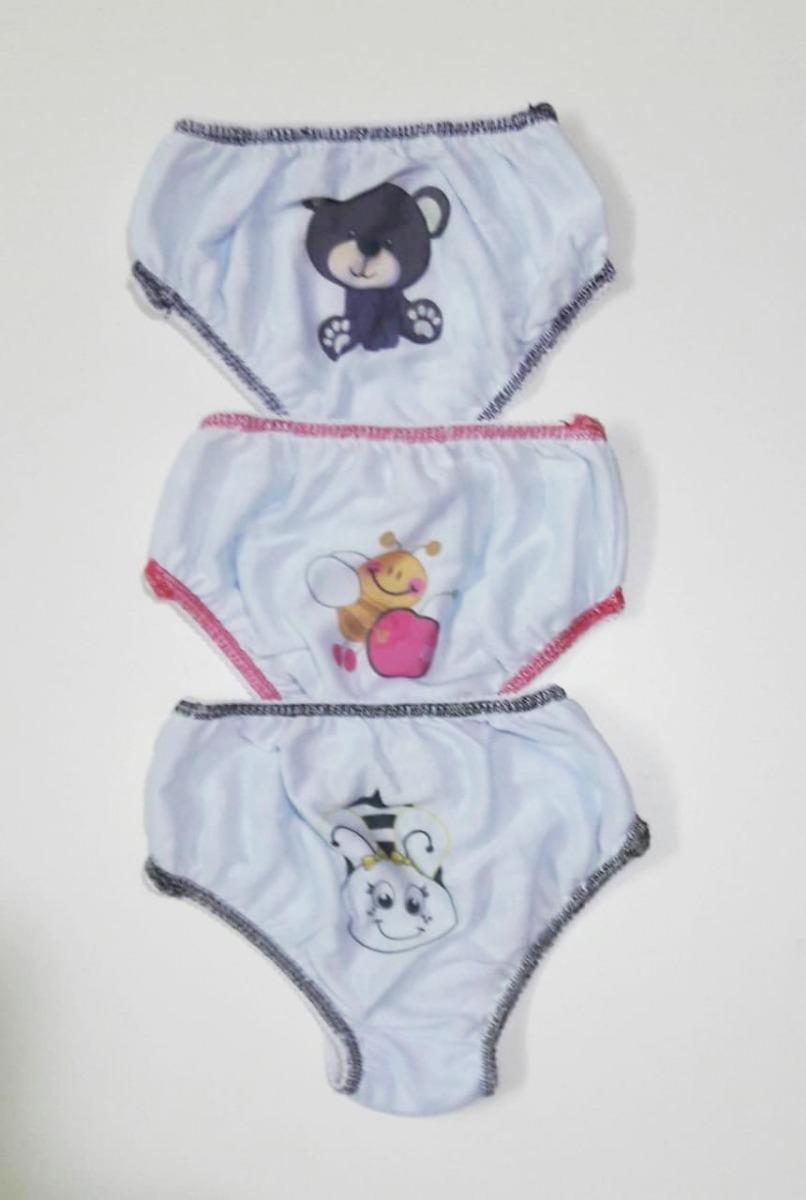 60 und calcinhas infantis sortidas em malha veste até 5 anos. Carregando  zoom. 57d3c0216ba