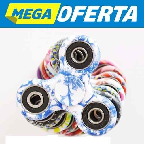 60 unid fidget hand spinner anti stress 4 rolamento alta