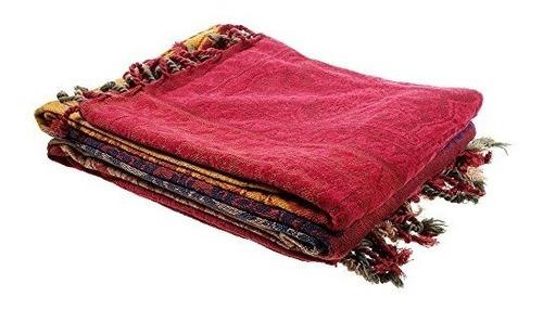 60 x 75 chenilla jacquard borlas manta para cama sofá decor