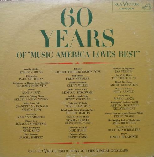 60 years of music america loves best lp rca álbum duplo