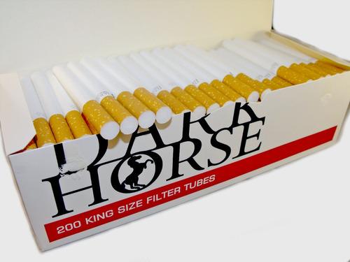 600 cigarrillos con filtro, listos para fumar tabaco liar