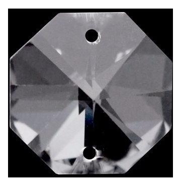 600 cristais castanha italiana com 2 furos para lustres