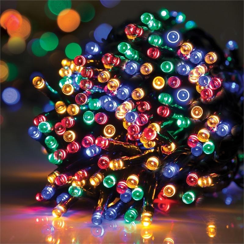 1adfc4134b3 600 led luces de navidad guirnalda multicolor 40 metros. Cargando zoom.