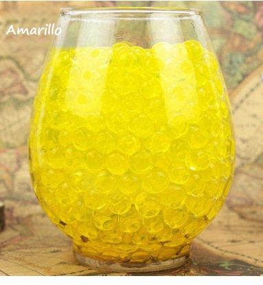 600 perlas de gel biogel hidrogel crecen agua centro de mesa