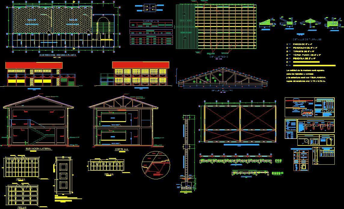 600 planos profesionales en autocad bs en Planos de casas en autocad