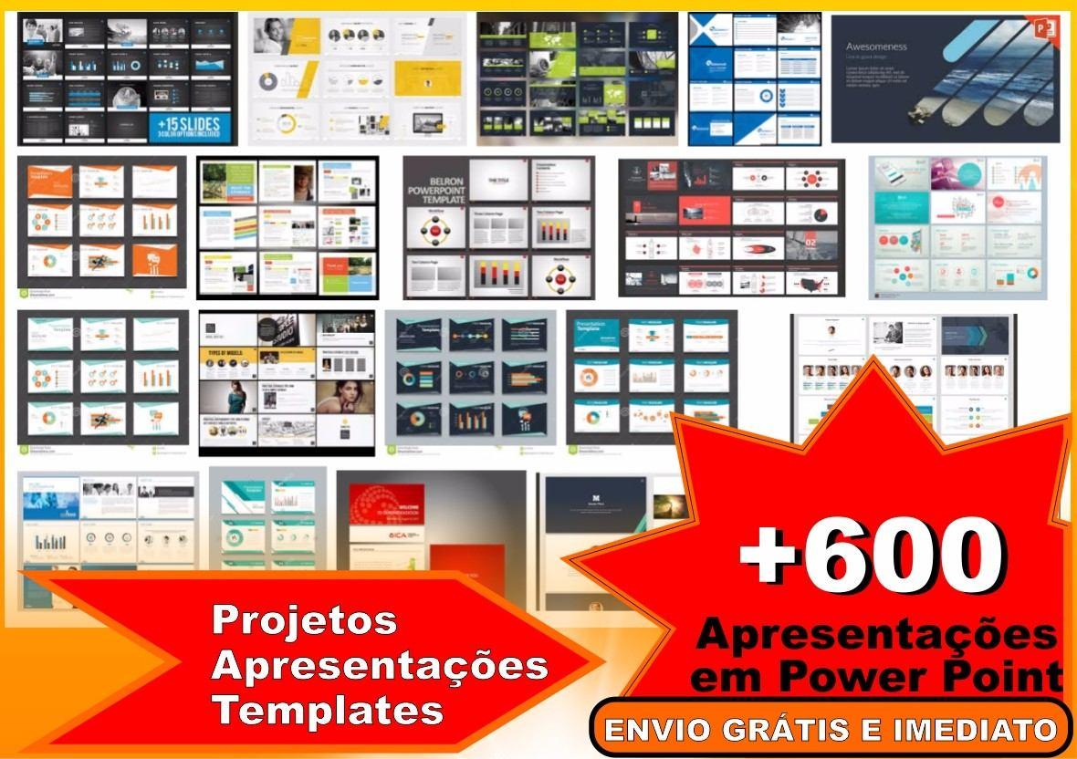 600 projetos apresentaes templates em power point download r 5 carregando zoom toneelgroepblik Images