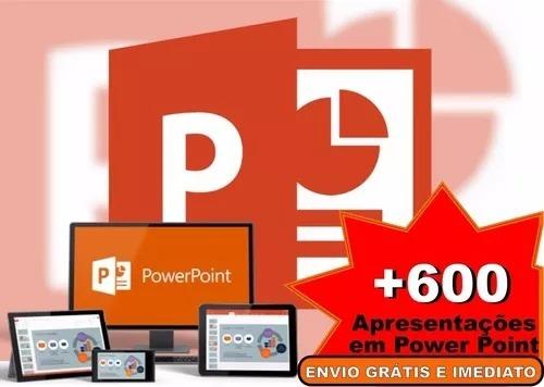 600 projetos apresentações templates em power point download r 8