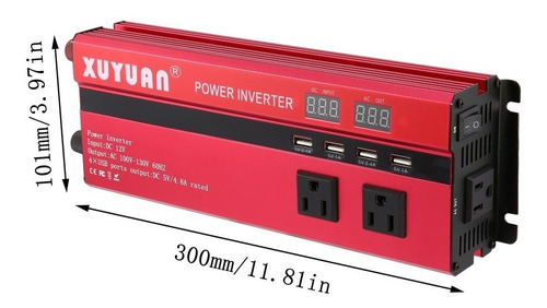 6000w solar energía inversor corriente continua 12v a ca 110