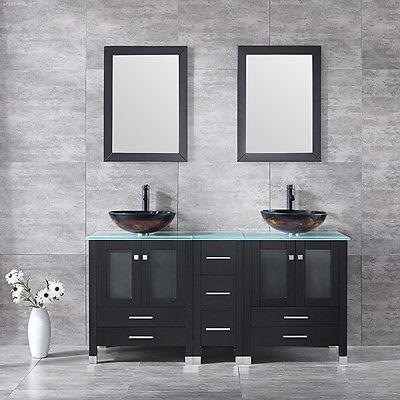 60,6 W/lavamanos Diseño Moderno Cuarto De Baño De Madera Só ...