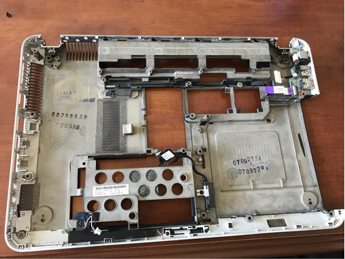 608223-001 bottom case carcaza inferior hp dm4-1000