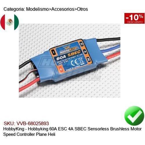 Hobbywing QUICRUN 60A 1060  Brushless ESC 1:10 1//10 RC Car Drehzahlregler