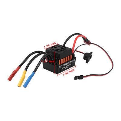 60a impermeable eléctrico esc brushless velocidad controlado