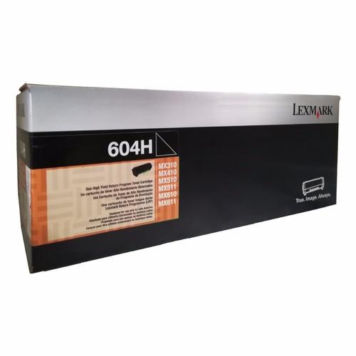 60f4h00 toner negro lexmark mx310, 410, 511, 611 - 10.000 cp