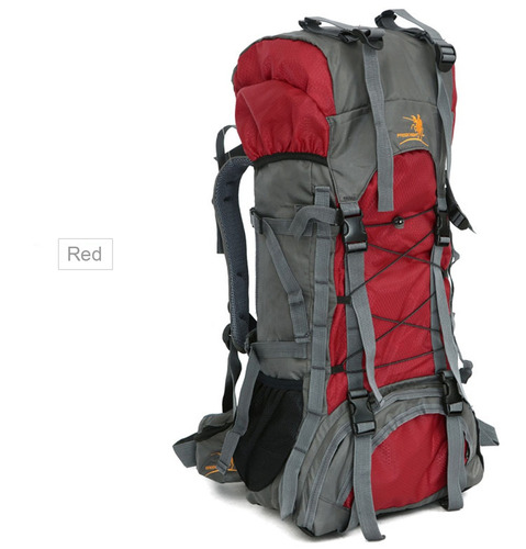 60l nylon agua resistente mochila mochila para montañismo c