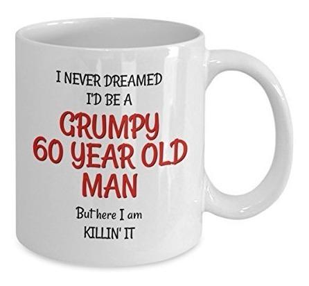 GRUMPY OLD MAN BIRTHDAY MUG