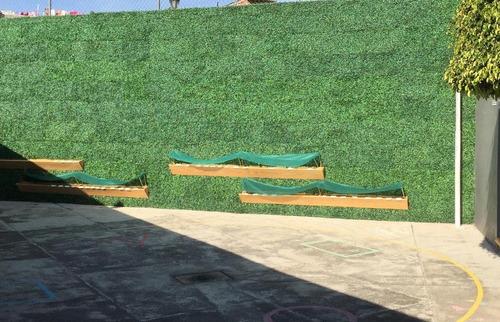 60pack muro verde follaje artificial sintetico jardin planta