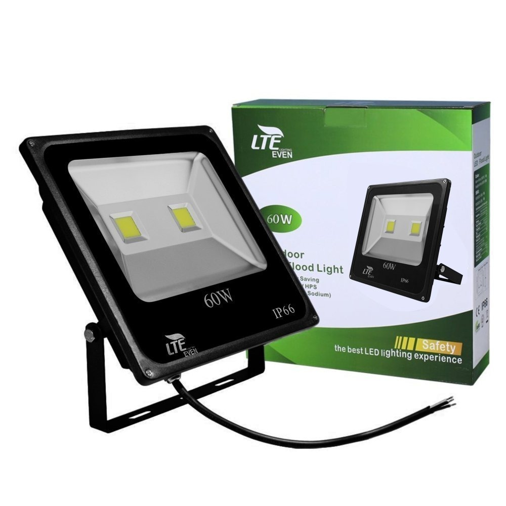 60w led flood light outdoor security light4500 lumen6000k cargando zoom aloadofball Choice Image