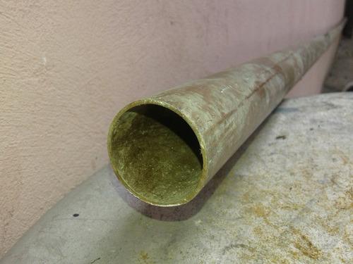 6,10mts.tubo rigido de cobre tipo l de 1' y 3/8