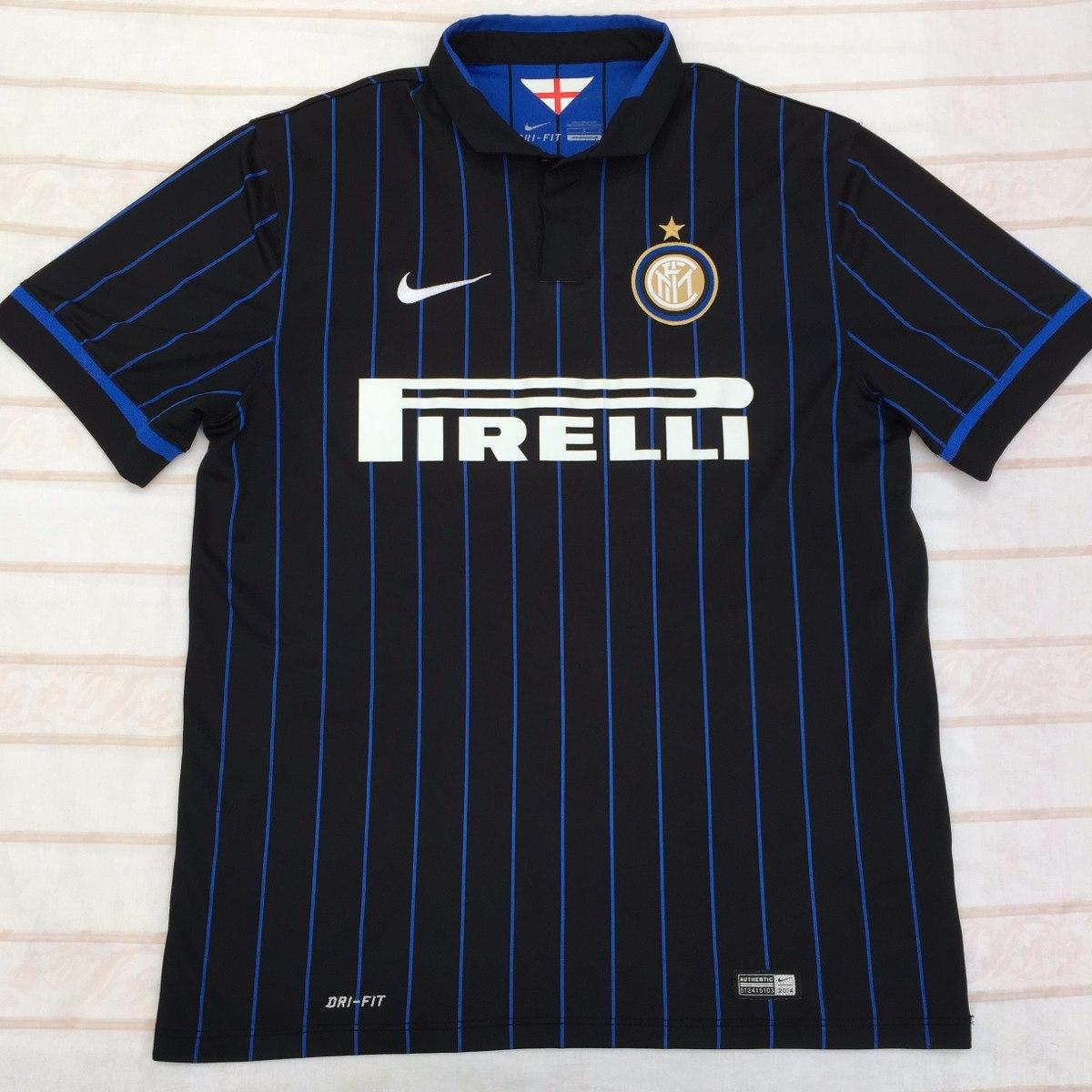 5957860a73 611062-011 Camisa Nike Inter Milão Home 14 15 G Fn1608 - R