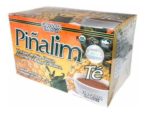 (62 piezas) té pinalim (30 sobres) gn+vida (mayoreo)