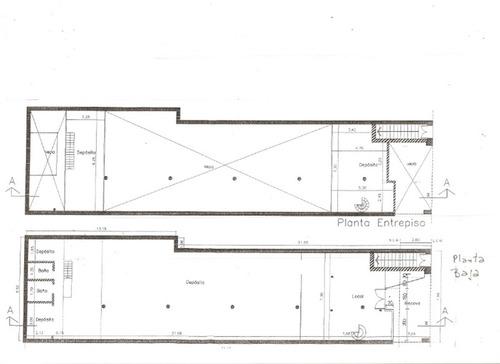 624 m2 cubiertos sarmiento 600