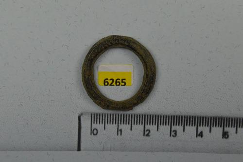 6265 fragmento império romano 100/200 d.c. bronze
