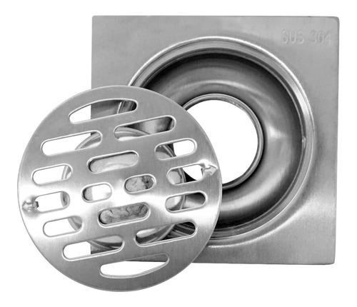635g-5-2k coladera 10cm antiolor acero inox satín