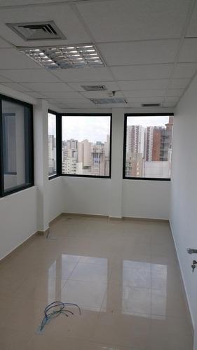 637- conjunto comercial locação, 90m², prox. metro ana rosa
