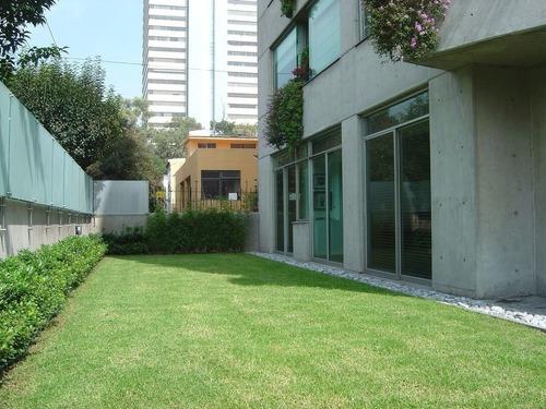 639- extraordinario garden en renta en lomas de chapultepec